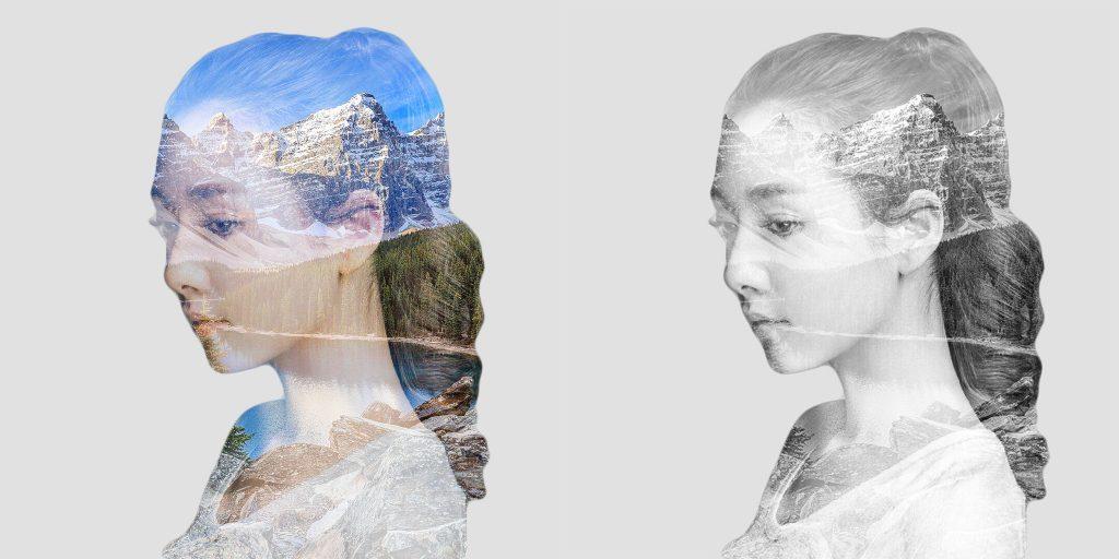 图片[11]-【PS记录】简单制作照片双重曝光效果PS教程-轻刻年轮